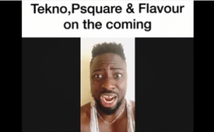 Comedy Video: Klintoncod TEKNO, P SQUARE and FLAVOUR Hilarious Response to Second Coming of Christ
